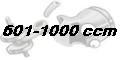 601 - 1000 ccm