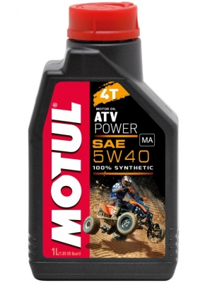 Motoröl 5W-40 Power Quad -4T Motul (Quad/ATV/UTV)