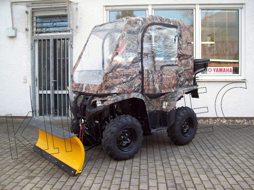 Yamaha ATV YFM 700 Grizzly 4WD EPS Profi Winterdienst