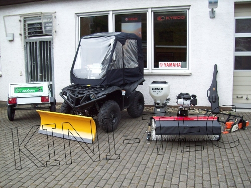 Yamaha ATV YFM 700 Grizzly 4x4  EFI Profi Work and Fun