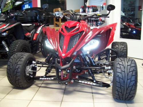 Yamaha Quad YFM 700R SE Great-Red (LoF-Zulassung) 2x bereift