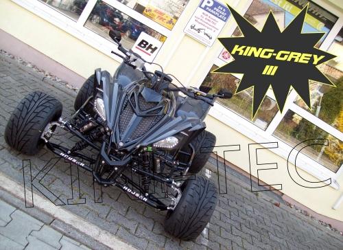 Yamaha Quad YFM 700R LE KING-GREY III (LoF-Zulassung) 2x bereift