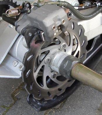 Wave Bremsscheibe hinten Yamaha Raptor YFM 700 R mit ABE