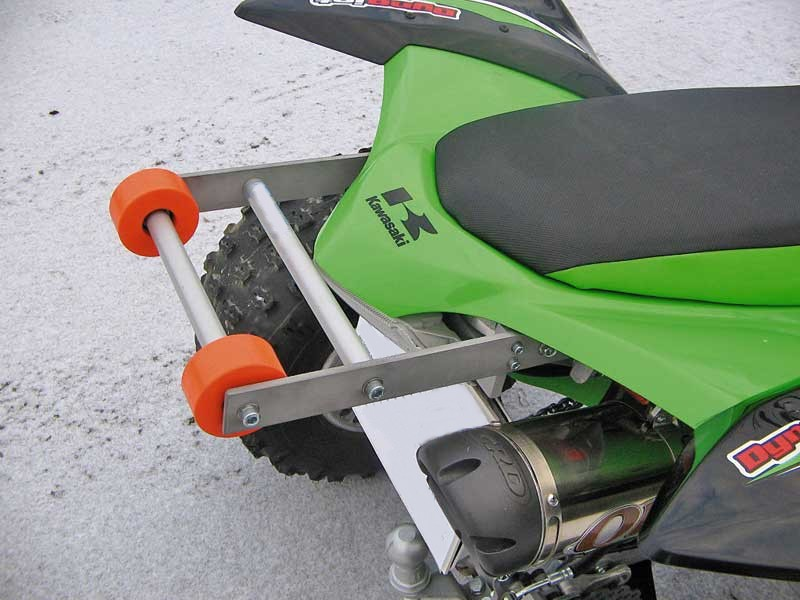 Wheelie Bar Kit Kawasaki Kfx 450 R Quad Und E Bike Point Kini