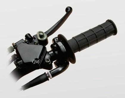 Drehgasgriff schwarz (Universal)