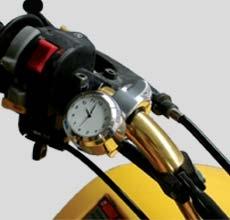 Uhr mit Quarzwerk für Lenkeranbau ART (Universal)