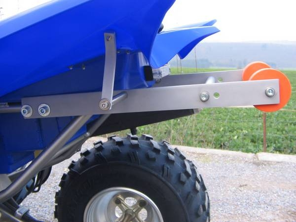 Wheelie Bar Kit Yamaha Raptor 350 Quad Und E Bike Point Kini