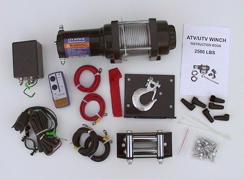 Seilwinde Powerwinch-Kit 3000 ADV (universal)