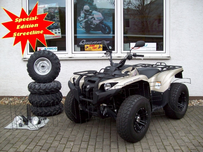 Yamaha ATV YFM 700 FI Grizzly 4WD EPS Special-Edition Streetline ...