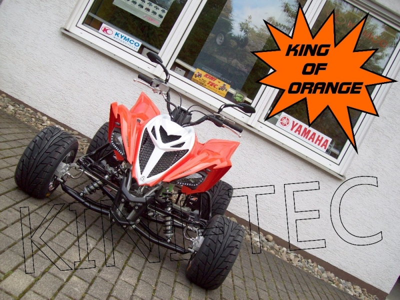 Yamaha Quad YFM 700R 2014 King-Orange (LoF-Zulassung) 2x bereift ...
