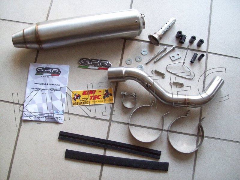 Auspuff G.P.R. Slip-On DEEPTONE (Yamaha 700R ab Bauj. 2015)