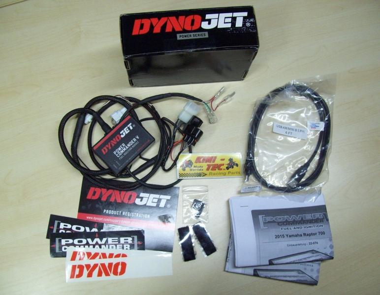 Power Commander Dynojet V mit Zündverstellung (Yamaha 700R ab 2015 bis ...)