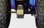 Protektor Differentialschutz AXP (Yamaha Bruin 350)