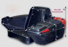 Koffer hinten mit Sitz (ART)