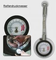 Reifendruckmesser mit Schlauch (Universal)