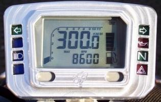 Tacho Alu-Cover für ACE-3755, ACE-3850, ACE-3853