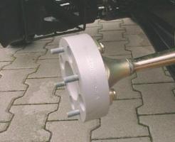Spurverbreiterungen LK:4/115  B:10cm (H&R)
