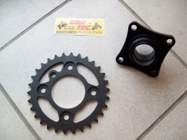 Kettenradaufnahme mit Kettenrad Yamaha 700 R (30-32-33)