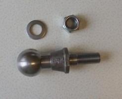 Anhängerkupplung-Kugelkopf mit E-Nummer (Universal)