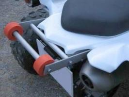 Wheelie-Bar-Kit (Yamaha R 700)