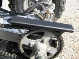 Kettenschutz hinten (Suzuki LTZ 400)