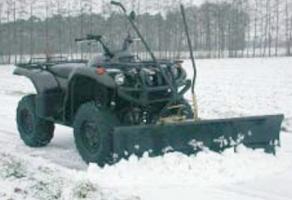Schneeräumschild Komplett-Set TS 150 Tielbürger (Yamaha Grizzly 700)