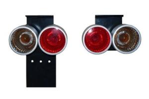 Rückleuchten-Set 2 Kammern Designring ATV/Quad (Universal)