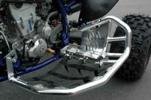 Nerfbar+Heelguard+Footpeg ProRacer ART (Kawasaki KFX 400)