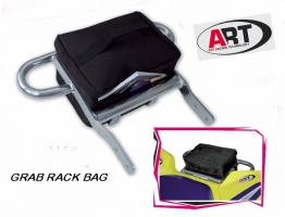 Gepäck-Rack mit Tasche (Honda TRX 450R)