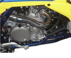 Auspuff Krümmerprotektor CRD (Suzuki LTR 450)