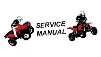 Service-Reparaturanleitung (Access 250 Sport)