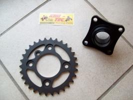 Kettenradaufnahme mit Kettenrad Yamaha YFZ 450 (30-32-33)