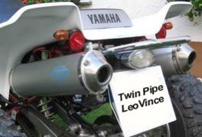 Erste-Hilfe-Set Twin-Pipe LeoVince (Yamaha Warrior 350)