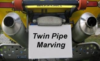 Erste-Hilfe-Set Twin-Pipe Marving (LTZ/KFX/DVX 400)