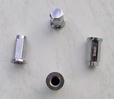 Felgen Radmuttern-Satz Flachbund 10 mm (ALUG15)
