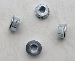 Felgen Radmuttern-Satz Flachbund 10 mm OEM (BLUG10)