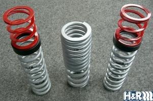 Sport-Tieferlegungs-Doppelfedersystem H&R (Hyosung TE 450)