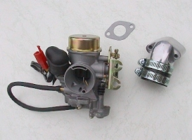 Tuning-Vergaser-Kit 24mm Membran 4-Takt (universal
