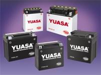Batterien Yuasa (diverse Größen und Ausführungen)