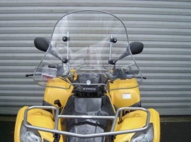 Windschild/Wetterschutzscheibe (MXU 250/300)
