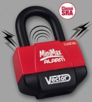 Bügelschloss Vector Mini Max Alarm