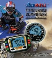 Tachos+Drehzahlmesser für ATV/Quad/Motorrad (Acewell)