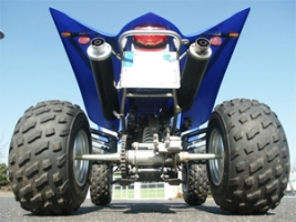 Erste-Hilfe-Set Twin-Pipe (Yamaha Raptor 350)