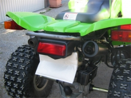 Erste-Hilfe-Set Twin-Pipe (Kawasaki KFX 700)