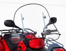 Windschild/Wetterschutzscheibe (MXU 400)