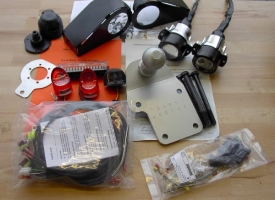 LOF Umrüstsatz Zugmaschine/Geräteträger (Suzuki LTZ 400 K9)