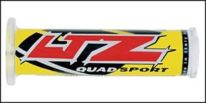 Griffgummis (Suzuki LTZ gelb/weis)