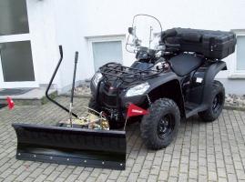 Schneeräumschild Komplett-Set 125 (Kymco MXU 500/500IRS)
