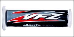 Griffgummis (Yamaha YFZ 450 schwarz-rot)