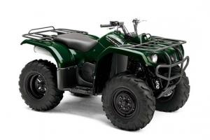 Yamaha ATV YFM 350 AN Grizzly 2WD grün